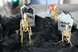 Spooky Skeleton Graveyard-Halloween Decor Blog Hop Our Crafty Mom