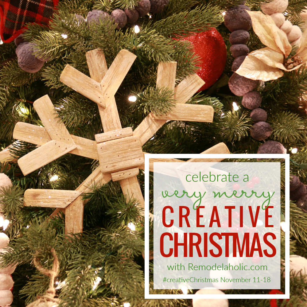 DIY Wood Slice Christmas Ornament - Our Crafty Mom