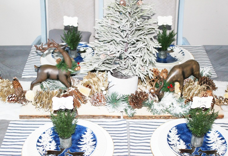 Create A Woodland Themed Tablescape