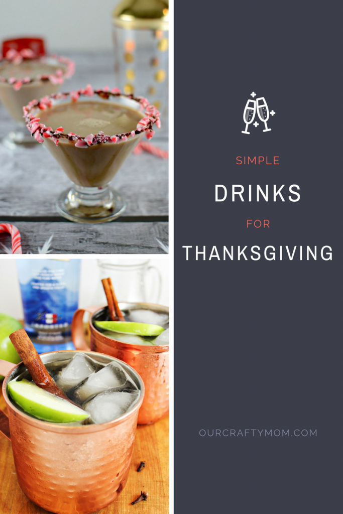 Thanksgiving Cocktail Recipes You Will Love Merry Monday 181 - Our Crafty Mom #Thanksgiving #Cocktail #Recipes