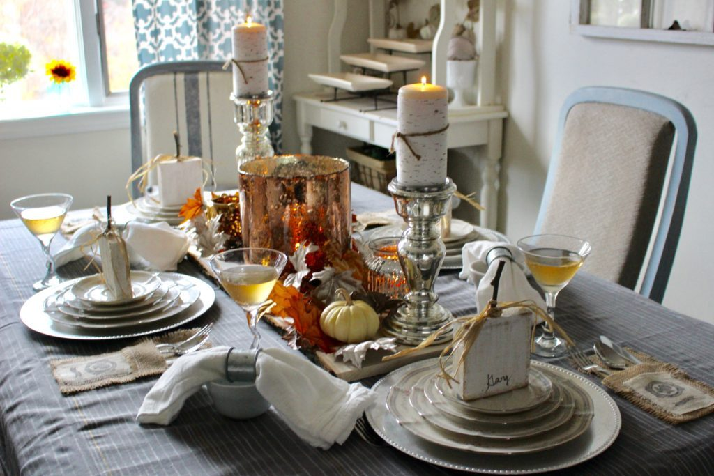 Elegant Thanksgiving Our Crafty Mom