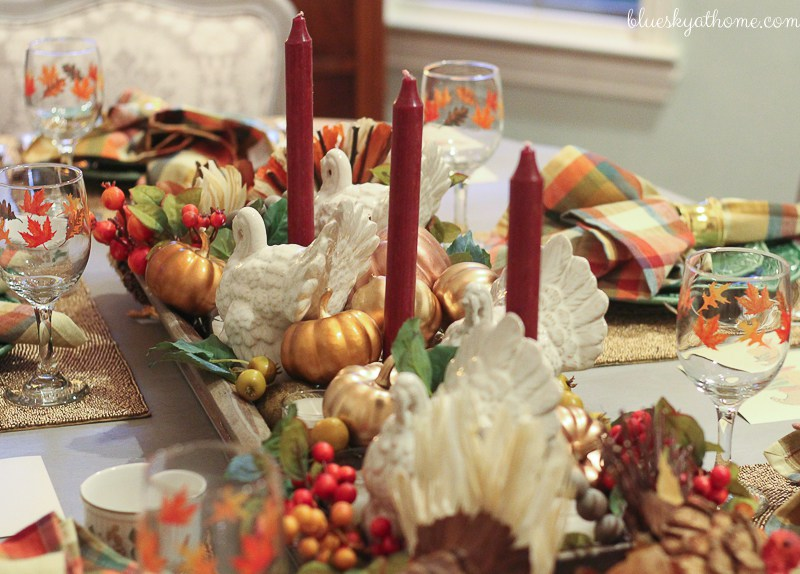 15 Fabulous Fall Tablescapes & Merry Monday 179 Our Crafty Mom