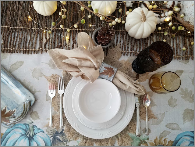 15 Fabulous Fall Tablescapes & Merry Monday 179 - Our Crafty Mom