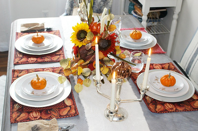 Thanksgiving Tablescapes Our Crafty Mom