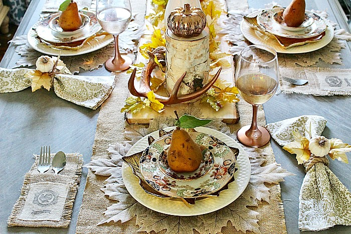 Thanksgiving Tablescape Our Crafty Mom
