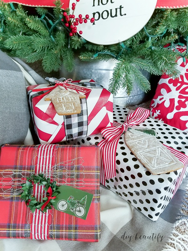 5 Easy Christmas Gift Wrapping Ideas & Blog Hop Our Crafty Mom