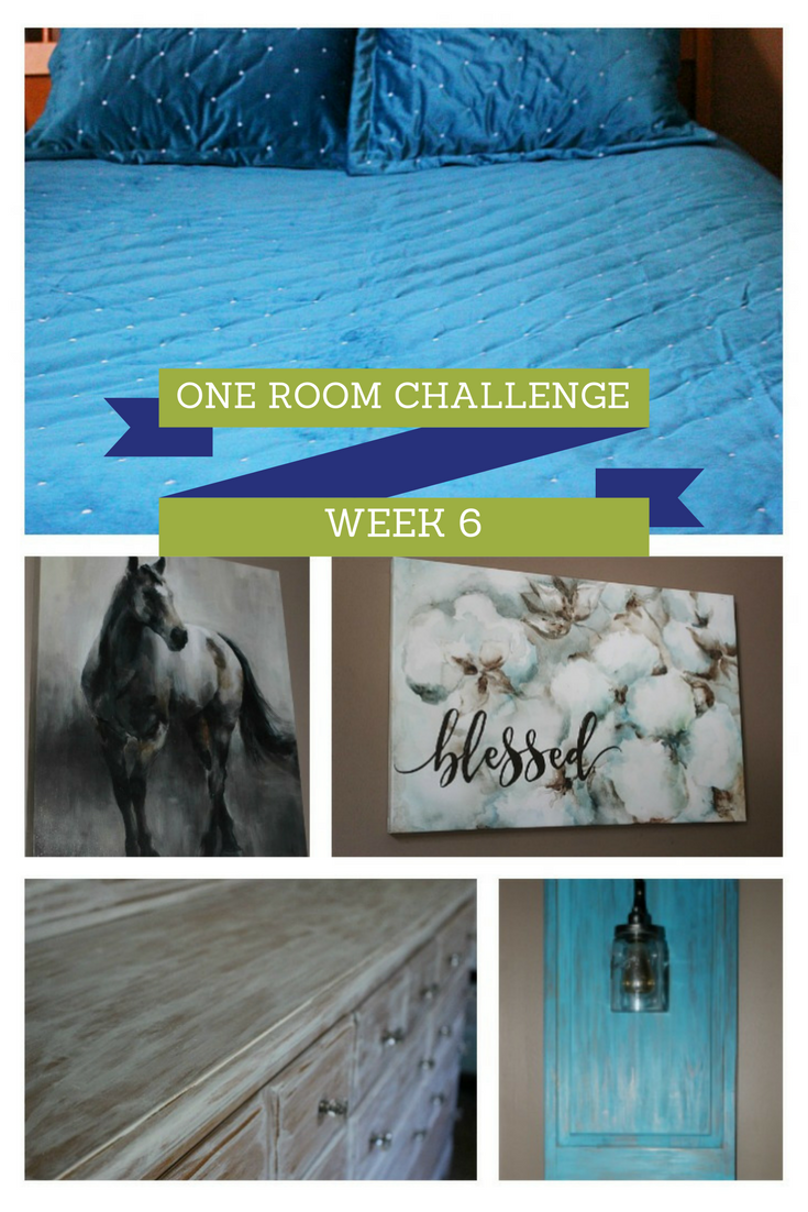 Master Bedroom Retreat One Room Challenge Week 6 Our Crafty Mom