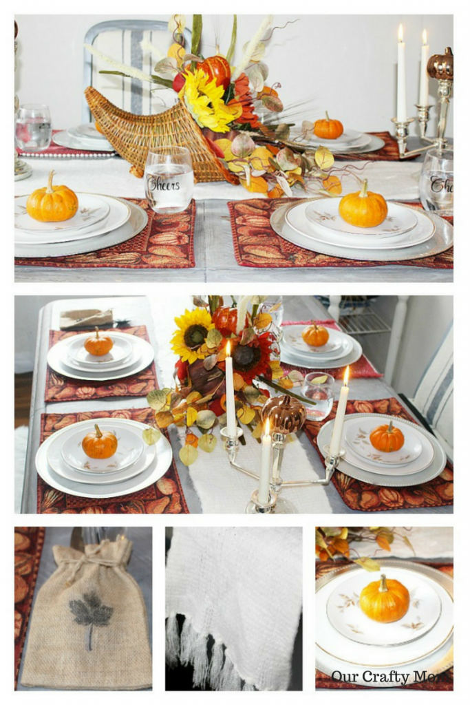 Thanksgiving Tablescape Ideas 23 Bloggers Share Ideas Our Crafty Mom