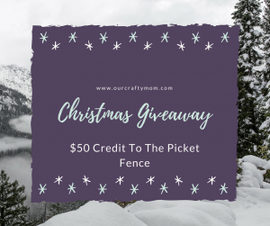 Christmas Giveaway | $50 Boutique Credit | The Picket Fence