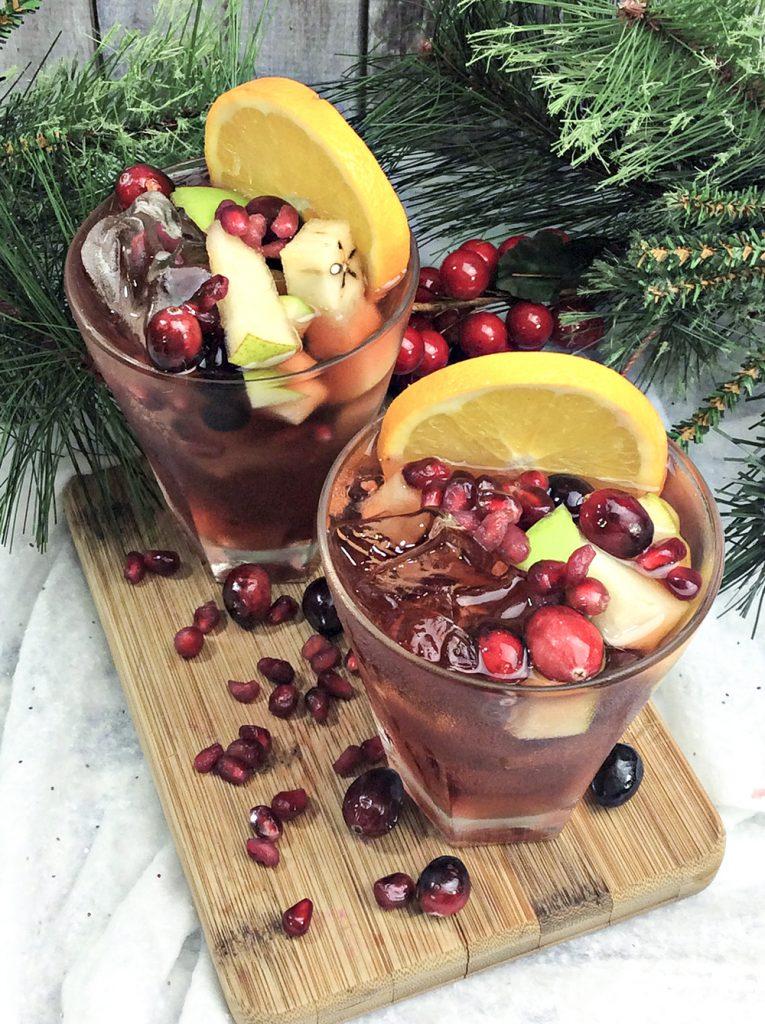 5 Holiday Sangria Recipes and Merry Monday #183 4- Our Crafty Mom #holidaysangria #merrymonday
