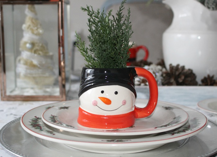 Create A Cozy Christmas Tablescape Our Crafty Mom #christmastablescape #tablescape