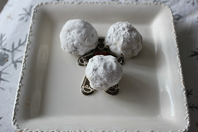 Hershey's Kiss Chocolate Snowball Cookies Our Crafty Mom