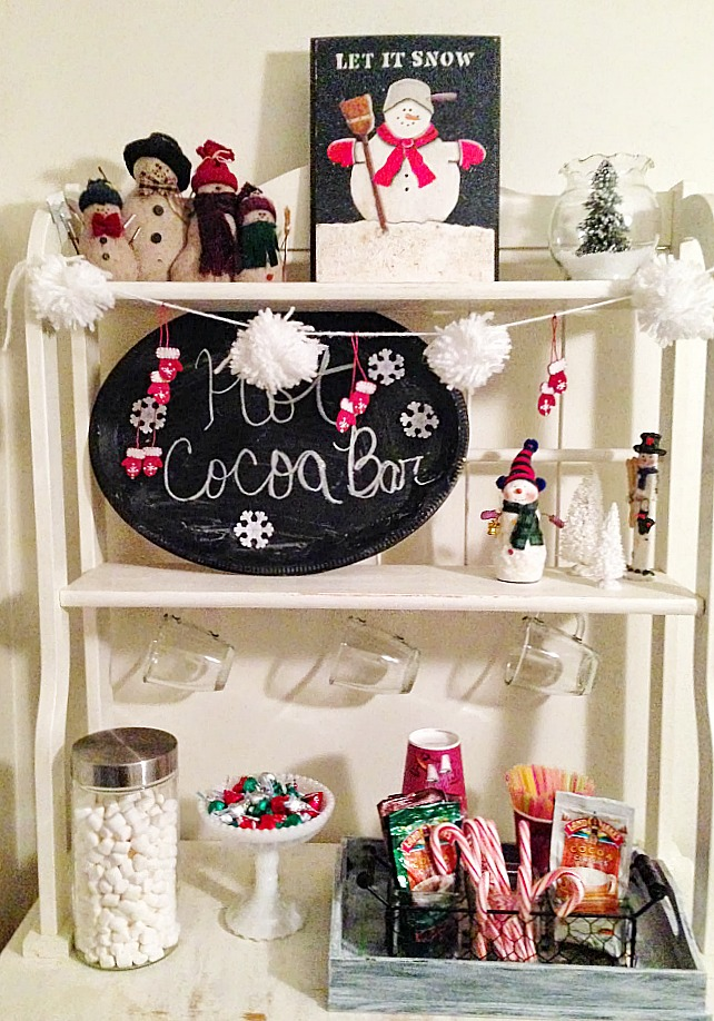 Quick and Easy hot cocoa bar our crafty mom 10