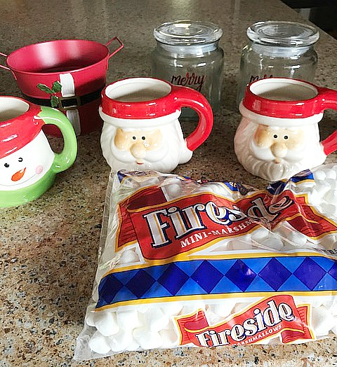 Quick and Easy hot cocoa bar our crafty mom #12daysofchristmas
