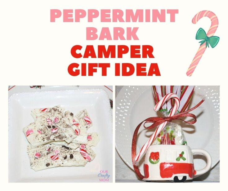 peppermint bark gift idea