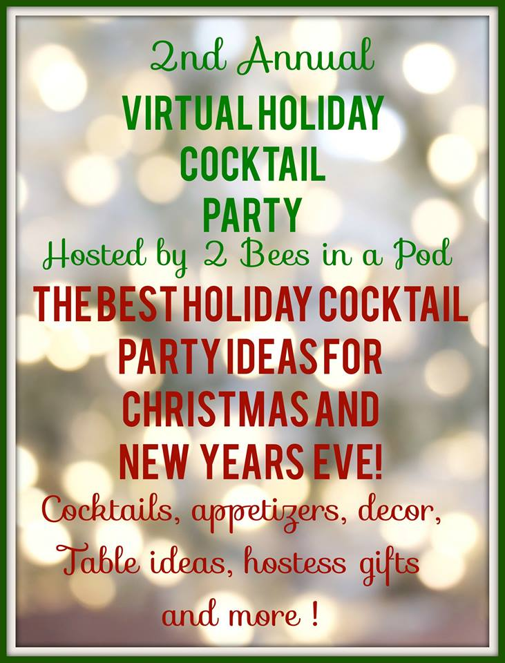 Virtual Holiday Cocktail Party Our Crafty Mom