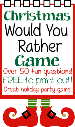 7 Holiday Party Games - Our Crafty Mom