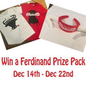 It's Giveaway Time – Win A Ferdinand Prize Pack