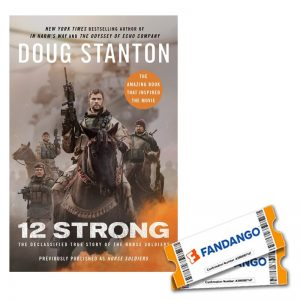 12 Strong Movie Tickets and Book Giveaway!!