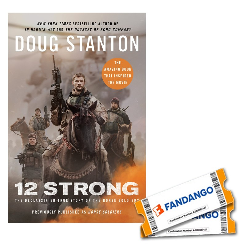 12 Strong Movie Ticket and Book Giveaway - Our Crafty Mom #12strongmovie #ad #rwm