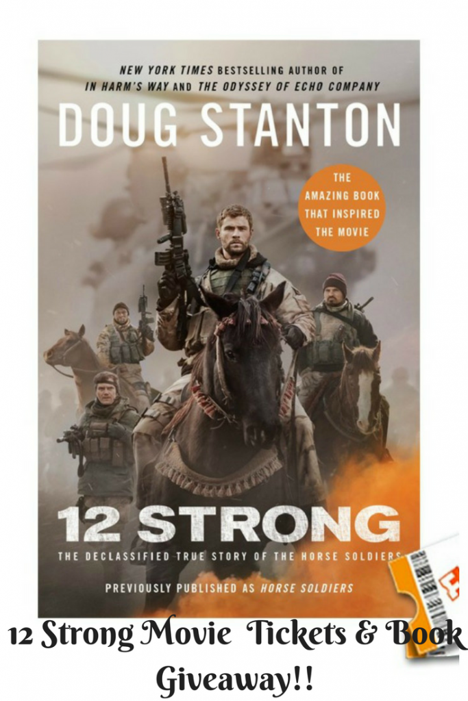 12 Strong Movie Tickets & Book Giveaway!!