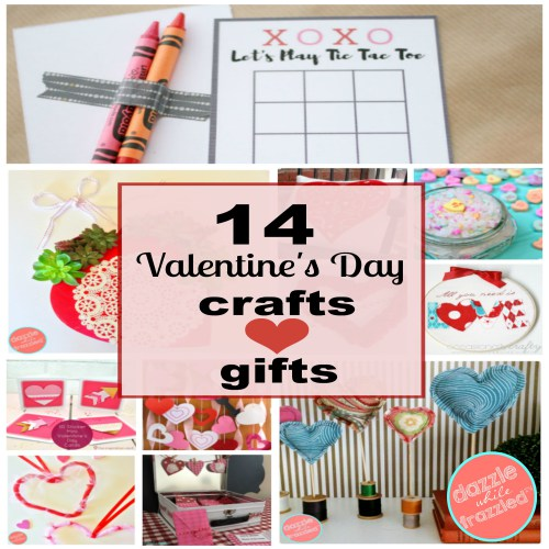 15 Creative Valentine's Day Ideas - Merry Monday - Our Crafty Mom #crafts #valentinesday #diy #188