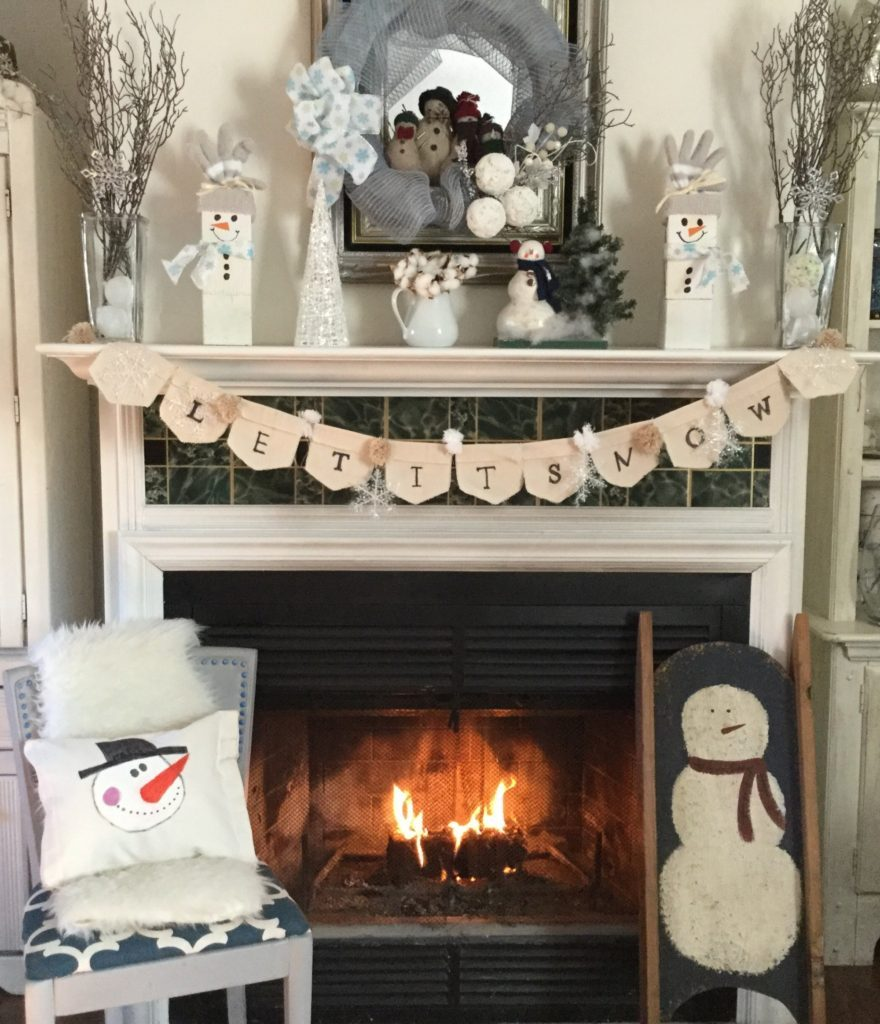 15 Winter Decorating Ideas Merry Monday #186 Our Crafty Mom #mm186