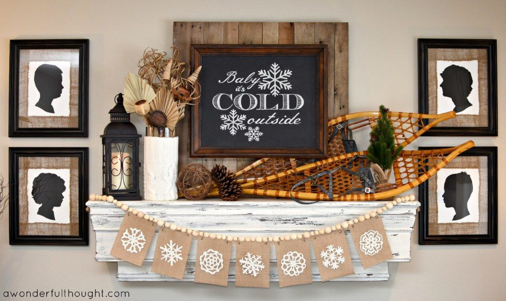 15 Winter Decorating Ideas Merry Monday #186 #mm Our Crafty Mom