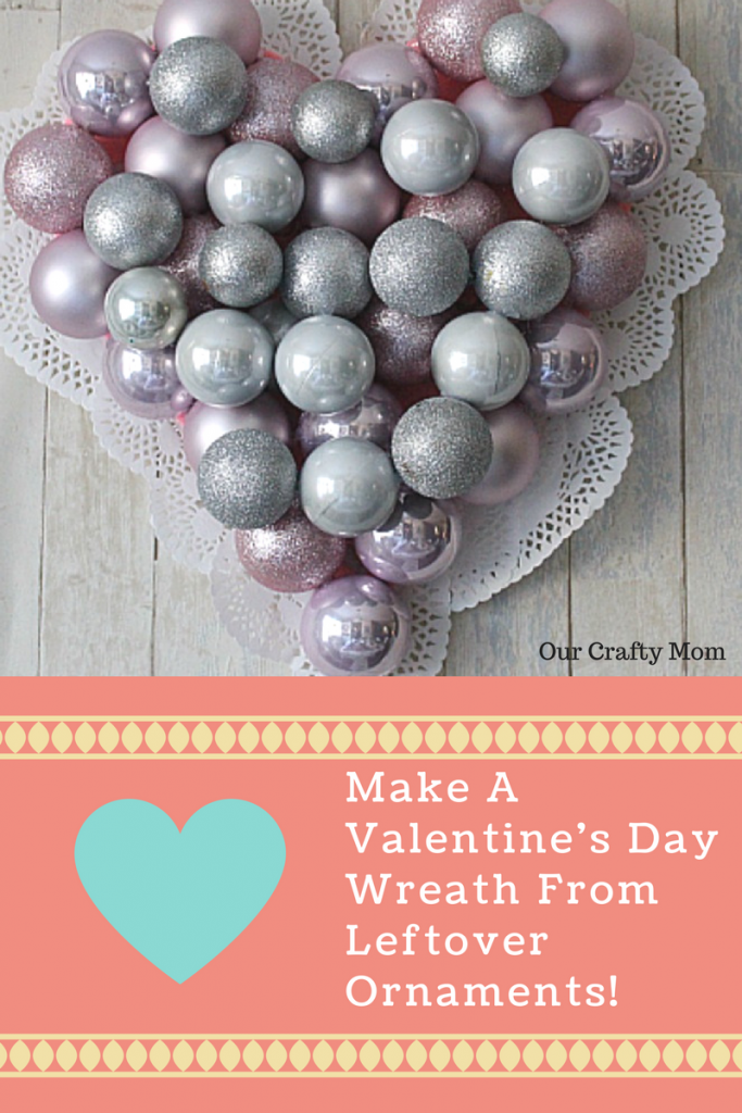 How To Make A Valentine's Day Wreath #blingonthecrafts #valentinesday #crafts #wreath