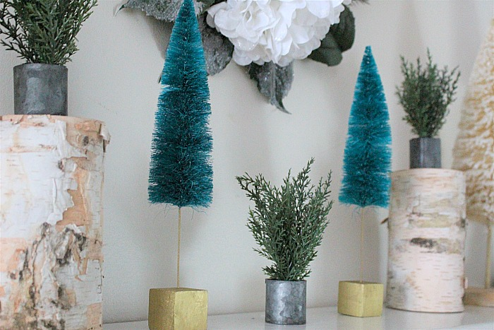 Decorate Your Mantel For Winter Our Crafty Mom #decorateyourmantel #wintermantel #winterdecor
