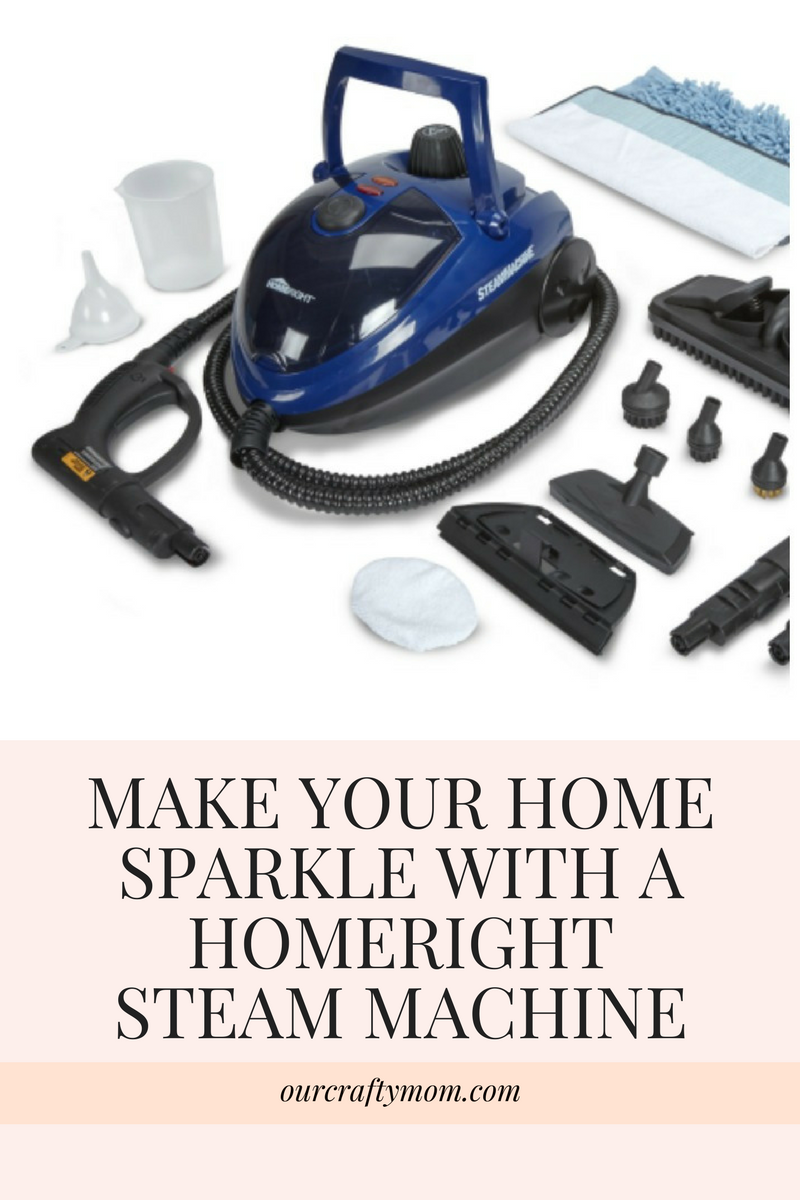 How To Clean Your Home Easily With A Steam Machine & GIVEAWAY!! Our Crafty Mom #giveaway #steammachine #steamcleaner #ad