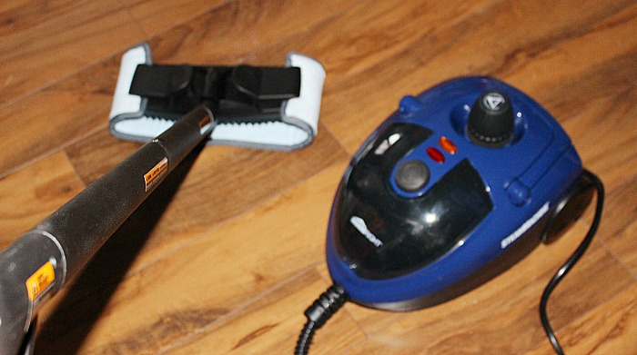 How To Clean Your Home WIth A Steam Machine And A GIVEAWAY - Our Crafty Mom