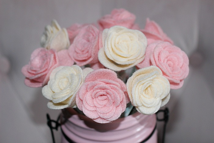 How To Make Pretty Felt Roses-Easy Tutorial Our Crafty Mom
