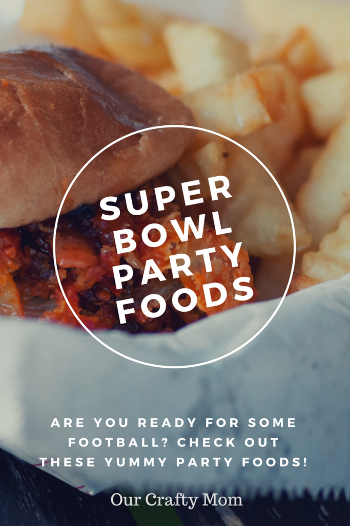 Super Bowl Party Foods and Merry Monday #187 Our Crafty Mom #superbowlpartyfood #gamedayfoods #recipes