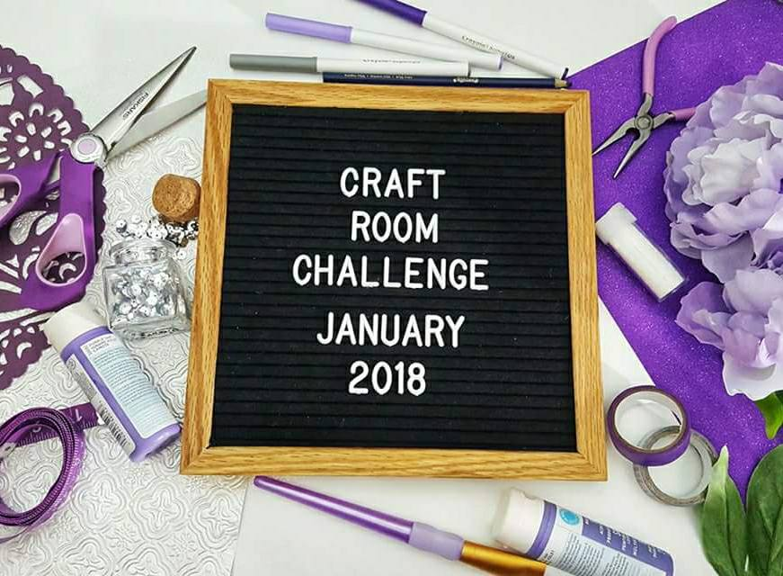 Craft Room Makeover Challenge Our Crafty Mom #craftroomchallenge #confessthemess