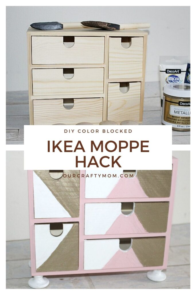 IKEA Moppe hack before and after