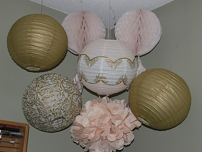 Pink And Gold DIY Craft Room Our Crafty Mom