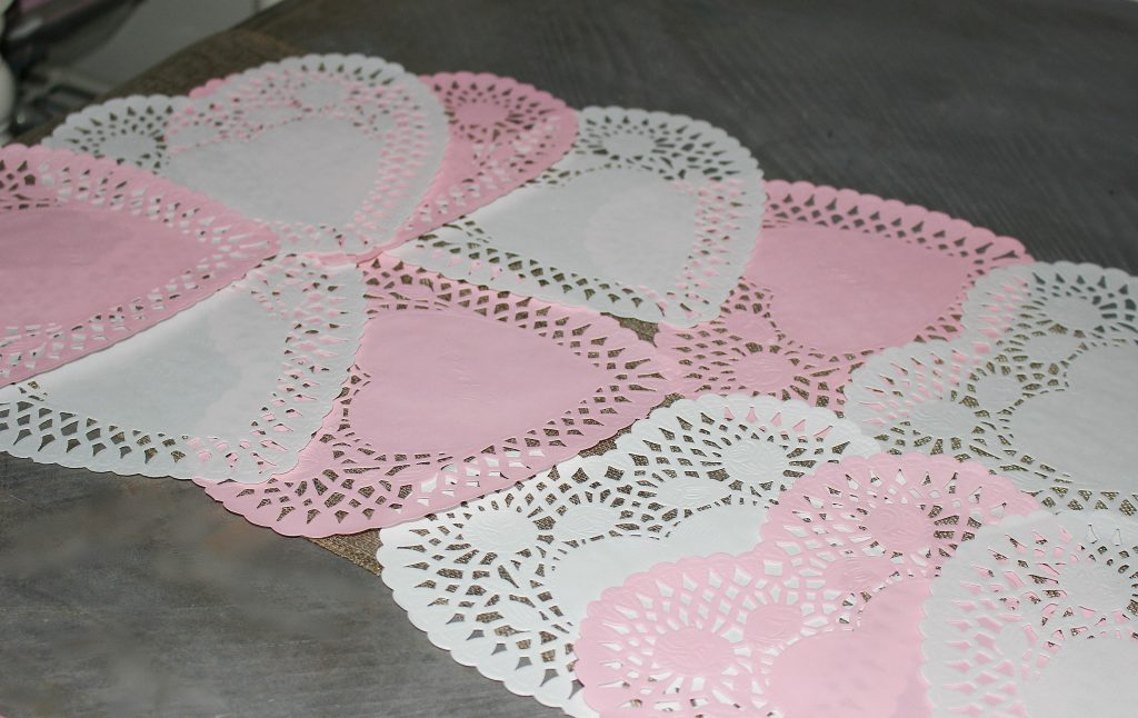 Set A Romantic Tablescape For Two For Valentine's Day Our Crafty Mom #tablescapes #valentinesday