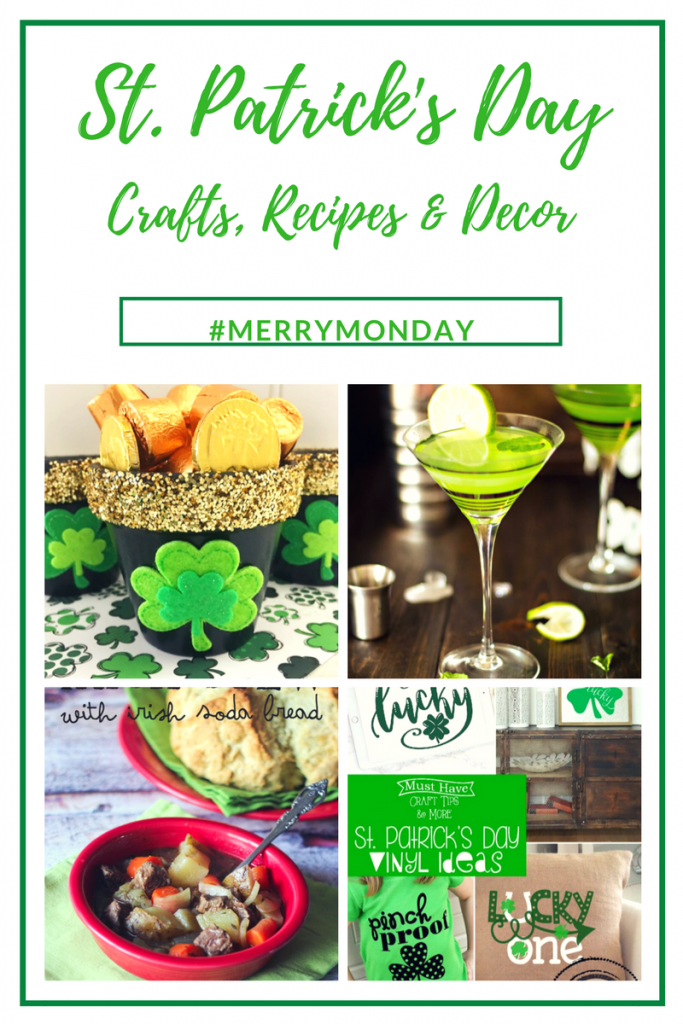 Simple & Fun St. Patrick's Day Crafts, Recipes And Decor Our Crafty Mom #stpatricksday #recipes #crafts #wreaths