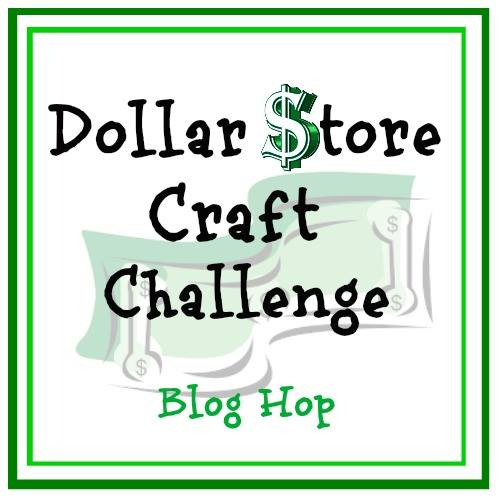 Easy To Make Dollar Store Spring Arrangement Our Crafty Mom #dollarstorechallenge #dollarstore #springarrangement #springdecor #dollarstorecrafts