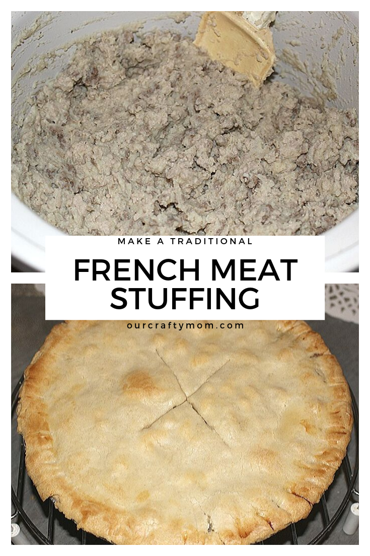 make a traditional french meat stuffing
