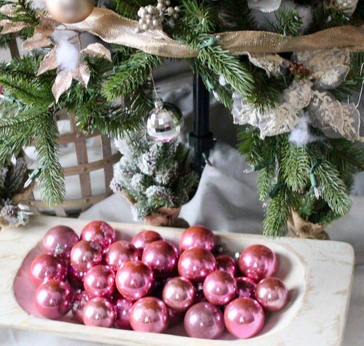 Ornaments in dough bowl