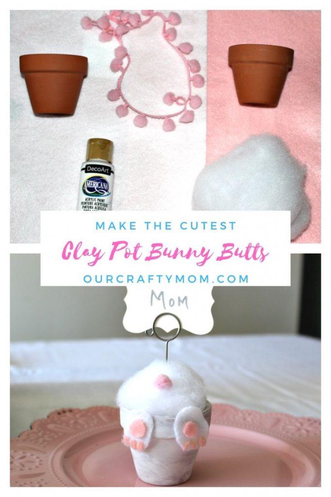 clay pot bunny butt