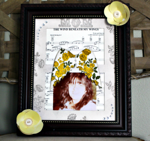 DIY Mother's Day Memorial Frame-Beaches Inspired