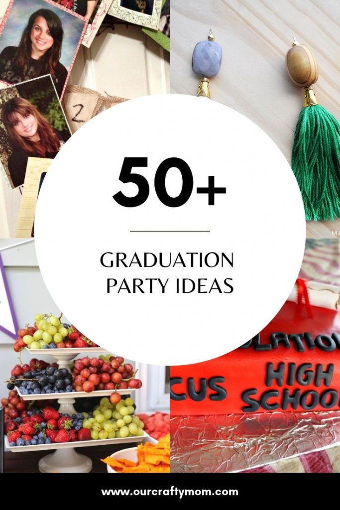 Graduation Party Ideas Collage