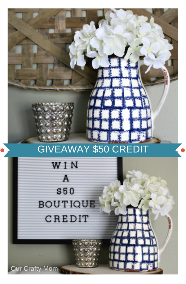 Awesome Giveaway For A $50 Kids Boutique Credit Our Crafty Mom #giveaway #winit #kids #boutique #homedecor