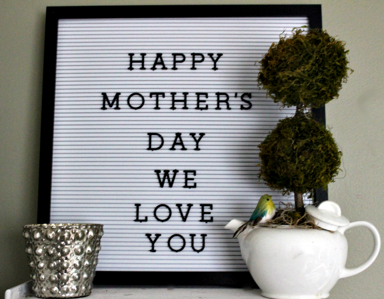 Create A Sweet Tea Pot Topiary For Mother's Day Our Crafty Mom #mothersday #topiary #teapot #mosstopiary