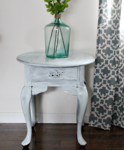 How To Easily Update A Thrift Store Table With Milk Paint