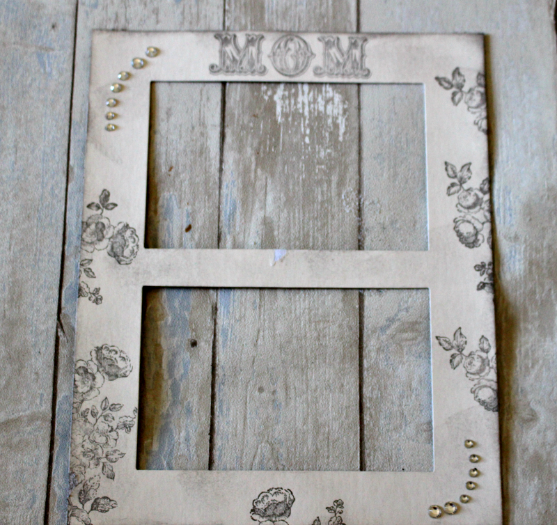 DIY Mother's Day Memorial Frame-Beaches Inspired Our Crafty Mom #beachesmovie #diy #moviemonday #memorialframe