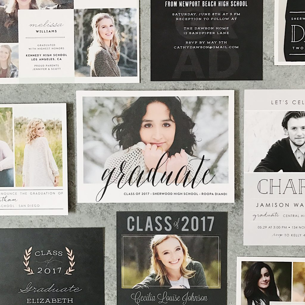 celebrate the moment with personalized graduation invitations